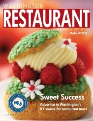 Media Kit - Washington Restaurant Association
