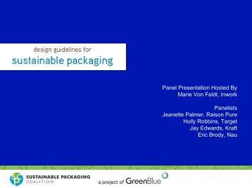 Panel Presentation Hosted By Marie Von Feldt, Inwork ... - IIR