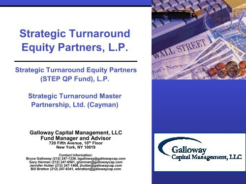 Strategic Turnaround Equity Partners, L P  - IIR