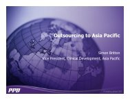 Outsourcing to Asia Pacific - IIR