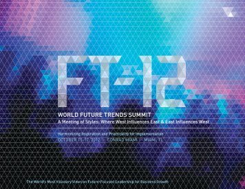 WORLD FUTURE TRENDS SUMMIT - IIR