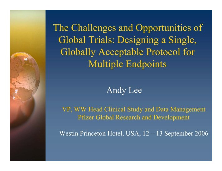 challenges and opportunities of the global
