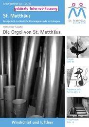 Ausgabe März bis April 2010 - Evang.-Luth. Kirchengemeinde St ...