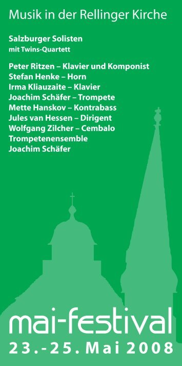 2008 - Verein zur Förderung der Musik an der Rellinger Kirche