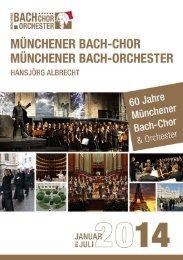 hier - Münchener Bach-Chor