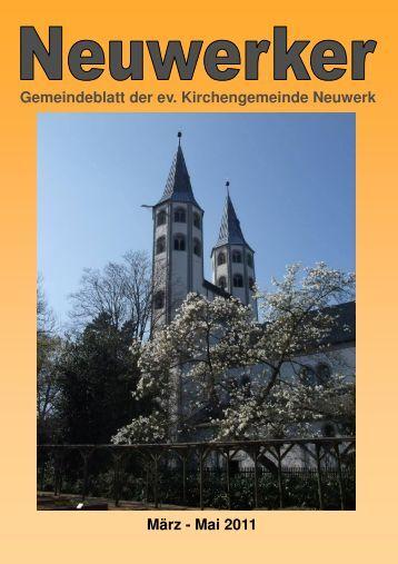 Gemeindebrief 01-2011 HP - Ev. luth. Kirchengemeinde Neuwerk ...