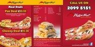 Bugibba Delivery Menu - Pizza Hut