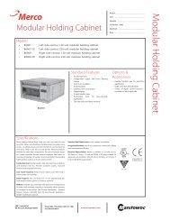 (MHC-1) Spec Sheet - Merco