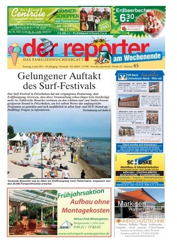 Gelungener Auftakt des Surf-Festivals - Der Reporter
