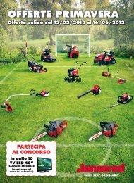 Campagna Primavera 2012 - Jonsered