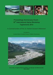 Proceedings Anniversary Event – 10 International Alpine Workshop ...