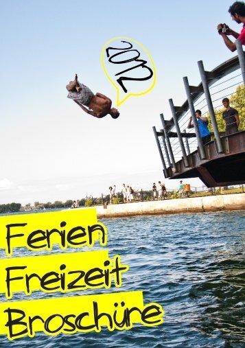 Hier gibt es die FFZ 2012 - Ferienfreizeitbroschuere 2012 - Jissa
