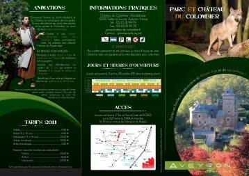 Parc et ChâteaU du Colombier