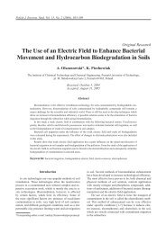 The Use of an Electric Field to Enhance Bacterial Movement and ...
