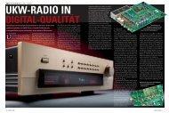 UKW-RADIO IN DIGITAL-QUALITÄT - Accuphase