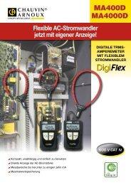 MA400D MA4000D - PK elektronik Poppe GmbH