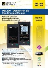 und Energierecorder C.A PEL 102 | 103 - PK elektronik Poppe GmbH
