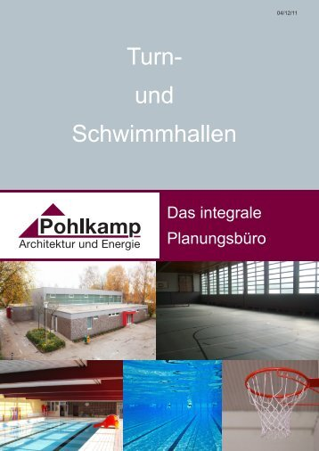 Turn- und Schwimmhallen 04/12/11 - Pohlkamp Architektur & Energie