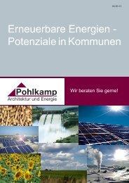 Erneuerbare Energien - Potenziale in Kommunen - Pohlkamp ...