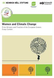 Women and Climate Change - Heinrich Böll Foundation