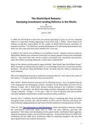 World_Bank_Reboots - Heinrich Böll Foundation
