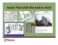 Issue: Plan with the end in mind - Learning Spaces Collaboratory