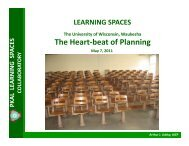 The Heartbeat of Planning - Learning Spaces Collaboratory