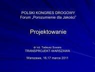 Projektowanie - T.Suwara, Transprojekt Warszawa - Polski Kongres ...