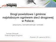 Prezentacja PKD - panel NIK 27.06.2013 - Polski Kongres Drogowy