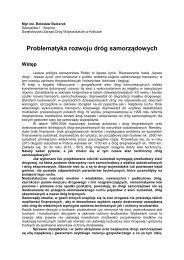 Balcerek - Polski Kongres Drogowy