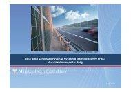 Rola dróg samorządowych, obowiązki zarządców - R.Stępień, MI