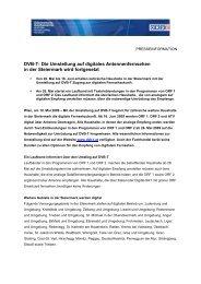 DVB-T: Die Umstellung auf digitales Antennenfernsehen in der ...