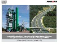 Dopuszczalne odchylenia zawart. asfaltu a dozowanie na WMA