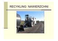 Recykling nawierzchni - Dariusz Biel - PKD