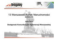 13.Rynek Nieruchomości - Polski Kongres Drogowy