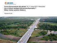 Wady i zalety systemu nadzoru - R.Kurek, Arcadis
