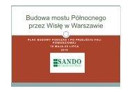 Artur Mańkowski, Sando Budownictwo
