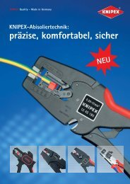 Produktinformationen Knipex Abisolierzagen - PK Elektronik