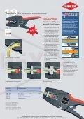 Produktinformationen Knipex Abisolierzagen - PK Elektronik - Seite 3