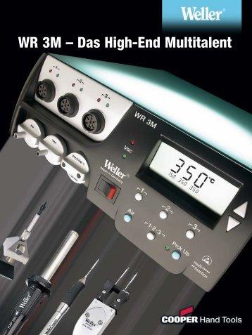 Weller Reparaturstation WR 3M & WR 3000M - PK Elektronik