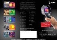 Produktinformationen FLIR Wärmebildkameras FLIR ... - PK Elektronik