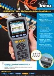Produktinformationen IDEAL Multimedia-Kabel ... - PK Elektronik