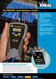 Produktinformationen IDEAL Glasfaser-Testkit ... - PK Elektronik