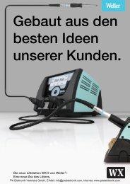 Produktinformationen Weller Lötstation WX 2 ... - PK Elektronik