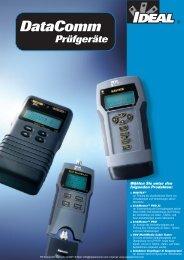 Produktinformationen IDEAL Multimedia Kabeltester ... - PK Elektronik