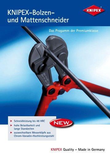 KNIPEX-Bolzen- und Mattenschneider - PK Elektronik