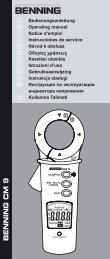 BENNING CM 9 - PK Elektronik