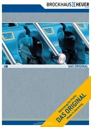 Katalog Brockhaus Heuer Schraubstöcke + Zubehör - PK Elektronik