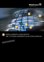Produktinformationen Waldmann Leuchten tycoon - PK Elektronik