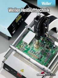 Produktinformationen Weller Heißluftstationen - PK Elektronik